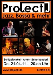 Plakat 21.4.2011 Schlupfwinkel/Ahorn-Schorkendorf