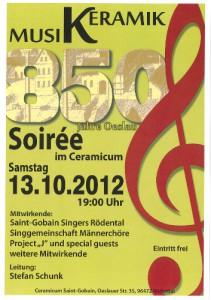 Plakat 13.10.2012 Ceramicum/Rödental