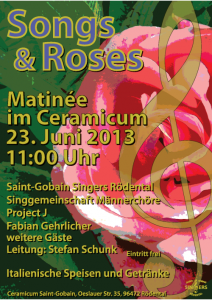 Plakat 23.6.2013 Ceramicum/Rödental