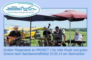 Danksagung 25.5.2014 Flugplatz Steinruecken