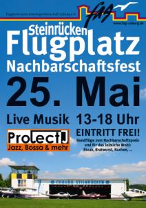 Plakat 25.5.2014 Flugplatz Steinruecken